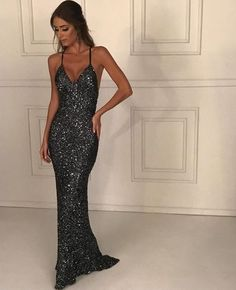 mermaid prom dresses fashion , long prom dress Related posts:Sparkly Sequin Side Slit Shinning Long Modest Simple A line Prom Dress – Sposa.elegant chiffon navy blue long prom dress with slit 2019 navy. Elegant Dresses For Women, Trendy Dresses, Beautiful Dresses, Fashion Dresses, Fashion 2018, Fashion Fashion, Casual Dresses, Romantic Dresses, Fashion Sale