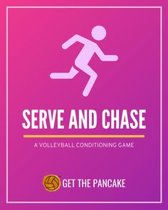 Serve and Chase: A Volleyball Conditioning Game