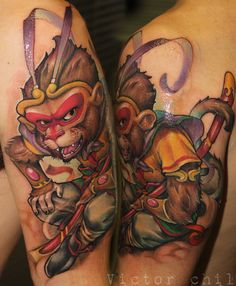 VICTOR CHIL TATTOO