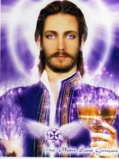 Saint germain Hold on my heart Saint Germain, Santa Sara, Star Family, Ascended Masters, Fraternity, Reiki, My Heart, Hold On, Saints