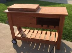 Cooler Stand with Wine Bottle Storage