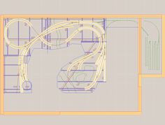 Free Ho Layout Plans | My plan and a 3D view appear below: