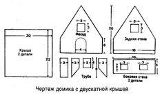 Пряничный домик. Рецепты с пошаговыми фото + видео мастер-классы   Домохозяйка