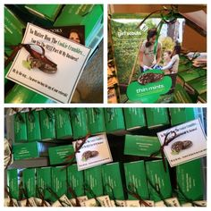 """Girl Scout cookie Pop-By idea: """"No matter how the cookie crumbles, you are the best part of my business!"""" #spring #girlscout #gifts"""