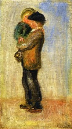Man Carrying A Boy by Pierre Auguste Renoir Handmade oil painting reproduction on canvas for sale,We can offer Framed art,Wall Art,Gallery Wrap and Stretched Canvas,Choose from multiple sizes and frames at discount price. Pierre Auguste Renoir, Pierre Bonnard, Frank Dicksee, Georges Seurat, Edward Hopper, Magritte, Banksy, Henri Matisse, August Renoir