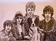 The Famous Five (pencil)