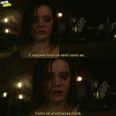 Trechos de séries // 13 reasons why