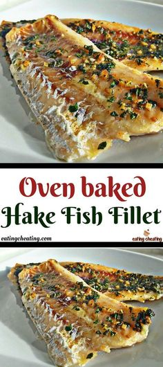 Who doesn't love nice baked fish in the oven combined with delicious potatoes and salad? Here you can see how easy is to prepare hake fish fillet in the oven. Delicious hake fish full of vitamins and good omega 3 fats perfect for lunch or dinner. Hake Recipe Healthy, Baked Hake Recipes, Easy Fish Recipes, Oven Recipes, Seafood Recipes, Baking Recipes, Recipe For Hake Fish, Recipies, Salt Baked Fish