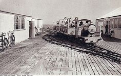 Walton-on-Naze Pier Railway | by trainsandstuff Walton On The Naze, Old Postcards, Seaside, Mad, Beach