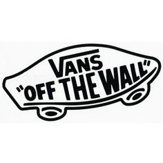 vans off the wall logo | VANS Off The Wall Sticker 178091100 | stickers | Tillys.com - Polyvore