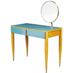 1stdibs - Gio Ponti, Vanity, Hotel Parco Dei Principi, Rome, Italy, 1964 explore items from 1,700  global dealers at 1stdibs.com