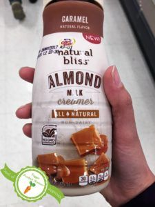 It is cold and rainy here in NC, a perfect day for coffee. Please check out my review of Coffee-mate natural bliss new almond milk creamer on the blog