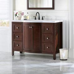 Traditional Bathroom Espresso And Bathroom Vanities On Pinterest