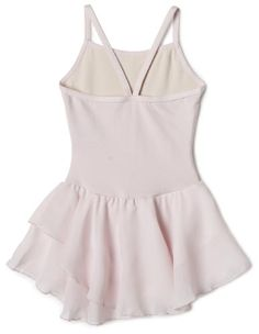 Capezio Little Girls' Camisole Cotton Dress,Pink,I ( 6-8)- Click image twice for more info - See a larger selection girls pink dress at http://girlsdressgallery.com/product-category/girls-pink-dresses/- girls, little girls, kids, kids fashion, girls fashion, girls dress, casual dress, everyday dresses, gift ideas