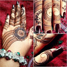 Dots and lines henna. Something with bold and very delicate details.   Eid Mubarak and love to my henna family.  devakySdharan