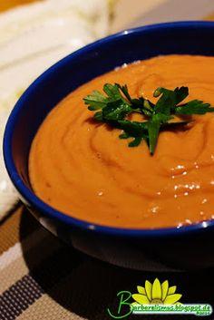Sopa Crudivora de Tomates com Abacate - Barbarelismus