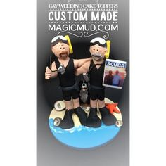 #gays #gaywedding #gaybears #gaymarriage #scuba made to order magicmud.com. #divers