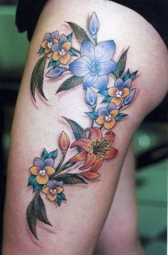 Flowers Tattoos Video, Flowers Tattoos, Best Flowers Tattoos in the World, Flowers Tattoos Photos, Flowers Tattoos Images, Flowers Tattoos Desing, Flowers Tattoos Gallery, Flowers Tattoos Female, Amazing Flowers Tattoos