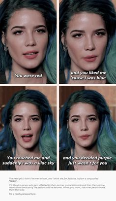 Halsey - Still obsessed by the idea that this song was written about Matty Healy Poetry Quotes, Lyric Quotes, Movie Quotes, True Quotes, Citations Film, Lilac Sky, Beautiful Words, Beautiful Lyrics, Music Lyrics