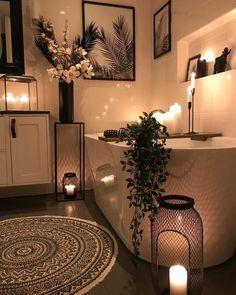 Bohemian Bedroom Bohemian decor Design Home ideas Latest Home Design Decor, Bathroom Interior Design, Home Decor Styles, Interior Decorating, Bathroom Designs, Bathroom Ideas, Cozy Bathroom, Bohemian Bathroom, Small Bathroom