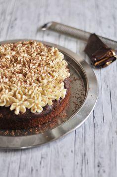 Für den spontanen Kuchenhunger: Schoko-Kirschkuchen mit Vanillebuttercreme