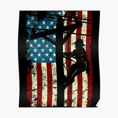 allsquarestudio Shop | Redbubble Lineman Wife, Retro Birthday, I Like Dogs, Call My Dad, Sell Your Art, Top Artists, American Flag, Cable, Prints