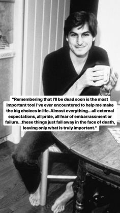 Well Steve Jobs determined Apple products were the most important. Quotable Quotes, Wisdom Quotes, True Quotes, Great Quotes, Words Quotes, Wise Words, Quotes To Live By, Motivational Quotes, Inspirational Quotes