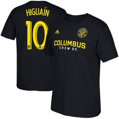 5c6e81a0c76 Federico Higuain Columbus Crew SC Male Adult 2017 MLS Player Name and  Number T-Shirt - Black -  27.99