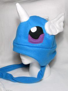 Pokemon Inspired Dragonair Fleece Hat MADE TO ORDER by Higginstuff, $20.00