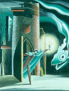 Insomnio II, 1947. – Remedios Varo Remedios Varo