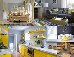 color palettes with grays and yellow | source i have a love hate relationship with gray and