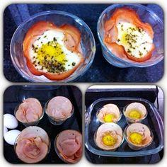 Diário sobre a dieta e receitas Dukan - @reedukan - Do Instagram ao Blog: Trouxinhas de peito de perú com ovo