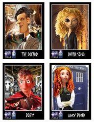 Doctor Who gone Pixar