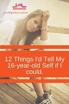Many of us regret some of the decisions we made when we were teenagers. I'm no exception. Wisdom to share: a list of 12 things I'd tell my self Best Life Advice, Mental Health Problems, Word Of Advice, Positive Living, We Are Young, Old Quotes, 16 Year Old, Girl Humor, Kids And Parenting