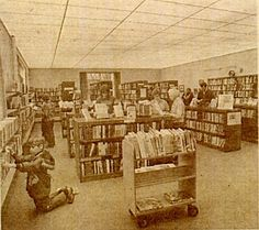 Old North Aurora Library (Messenger Public Library). Childrens department.