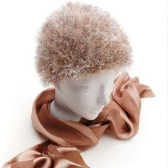 Wiggies hair crochet pattern.....great for women who have had cancer and lost their hair.