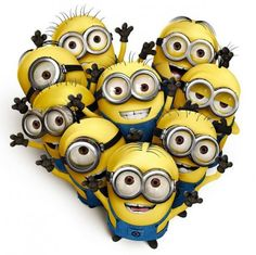 I love Despicable Me Minions, they are awesome.if you could embroider or paint or anything a minion onto anything that would be way cool.I love minions!