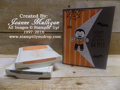 Cookie Cutter Halloween from the new 2016 Stampin' Up! Holiday Catalog! Created by Joanne Mulligan, Independent Stampin' Up! Demonstrator