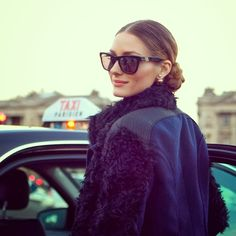 THE OLIVIA PALERMO LOOKBOOK By Marta Martins: Paris Fashion Week 2014 : Olivia Palermo At Nina Ricci