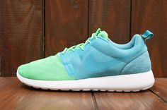 Nike Roshe Run HYP: Sport Turquoise/Poison Green/Summit White