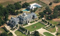 BIGGER THAN HUGE . . . Posted back in 2008 . . . Estate of the Day: $72 Million CORINTH, TEXAS Mansion -- 48,000 sq ft. on 140 acres with private lake, pool and pool house, tennis court and another 16,000 sq ft contemporary home is also on the property.