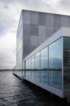 De Kunstline Theater and Cultural Center, Almere, Netherlands by SANAA Architects