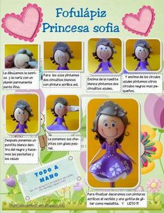 Fofulapiz Princesa Sofía 6