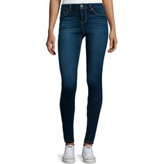Blue Spice High-Waist Skinny Jeans ($30) ❤ liked on Polyvore featuring jeans, skinny fit jeans, cut skinny jeans, skinny leg jeans, high waisted denim skinny jeans and denim skinny jeans