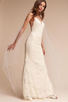 BHLDN's Watters Inez Gown in Ivory