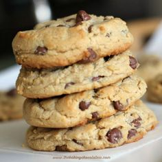 Perfect milk chocolate chip peanut butter cookies