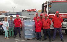 Elvas: Intermarché entrega águas aos Bombeiros | Elvasnews