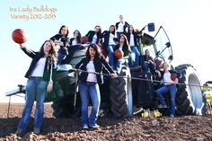 We received an awesome picture of the Ira varsity lady bulldog basketball team with one of our Case IH Magnum tractors. Check out this awesome picture shared with us from a great customer and friend, Shawn McCowen from Ira, Texas. Shawn's daughter plays varsity basketball in Ira. Go lady bulldogs! Do you have any pictures of you and your friends or family with our Case IH or Wylie equipment? Submit them to pictures@wyliesprayers.com