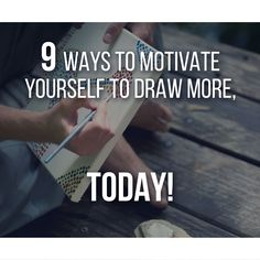 Lack of motivation can often be the major reason why you won't draw, it's the main villain of drawing, in truth, it's the main villain in any subject. The trick is always the same: start! Let's talk about a few Techniques that can help you give motivation an extra Boost. Now!