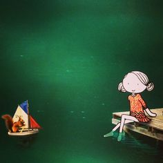 Down by the riverside... #15seconds #animation